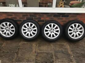 Jaguar wheels - Full set with tyres