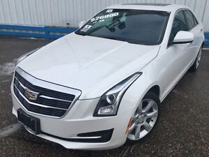 2015 Cadillac ATS 2.0T AWD *LEATHER-SUNROOF*