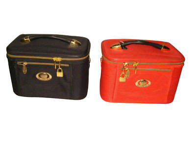 Cosmetic ,Train case,beauty case,Travel case,Makeup bag with inside pocket,Nice.