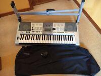 Yamaha PSR-E403 Keyboard + Stand + PSU + Cover
