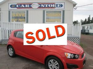 2012 Chevrolet Sonic LS. YES, AUTOMATIC!! YES, HATCHBACK!! YES,