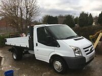 Transit tipper. Tow bar. Rear parking sensors. Mileage 50000