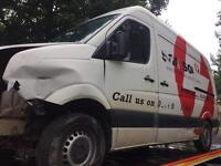 2008 vw crafter body for sale