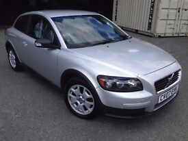 Volvo C30, Silver, £3200 full 12 month MOT, 1.6 petrol manual IMMACULATE CONDITION