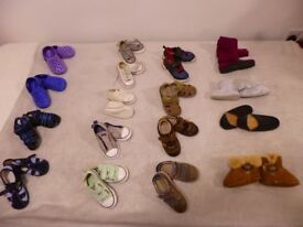 KID'S SHOES - VARIOUS (new & used)