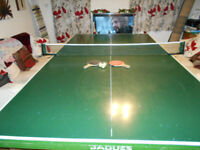 tennis table full size Jaques with balls,paddles and net