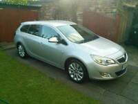 2011/61 VAUXHALL ASTRA SE 1.7 CDTI ESTATE SAT NAV-PHONE HALF LEATHER-A/C-CHEAP TAX**PX WELCOME** ONO