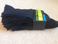 Brand new packs of mens socks (total 8 pairs )