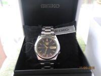 Seiko 5 automatic watch