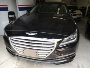 2016 Hyundai Genesis 3.8, NAVI, PANO ROOF, AWD, BACK UP CAMERA
