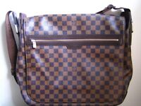 New Louis Vuitton Spencer Messenger/Satchel Bag
