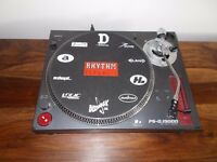 Sony ps-dj9000 Direct Drive Turntable/ technics 1210/1200 alternative/ uk delivery available