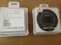 Samsung Galaxy S7/Edge S6/Edge Note 5 Fast Qi Wireless Charger Pad With Stand Black EP-NG930BWEGWW