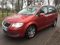 VOLKSWAGEN TOURAN TDI SE 12 MONTHS MOT 1 OWNER FROM NEW 7 SEATER