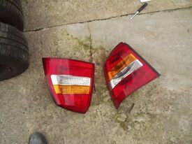 Astra rear lights/lamps