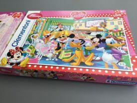 Diseny princess and minnie mouse jigsaws