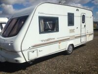 Elddis Typhoon GT/4 berth 2002 17ft excellent condition must be seen PX welcome