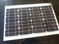 FREE STANDING SOLAR PANEL SUITABLE FOR CARAVAN, MOTOR HOME ETC.