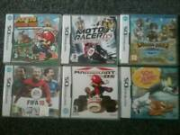 Nintendo DS games Mario etc