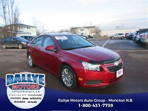2014 Chevrolet Cruze ECO! ONLY 34K! Alloy! Trade-In! Save!