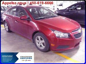 2014 Chevrolet Cruze CUIR, MAGS, CLIM, BLUETOOTH, CAMERA ARRIERE