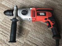 BLACK DECKER KR7532 Hammer Drill with 2 Gear 750 W 230V two speed gear box