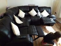 BRAND NEW REAL LEATHER CORNER SOFA