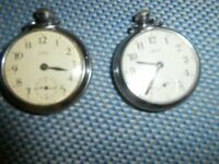 Smiths pocket watches quantity 2