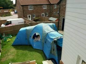 Six berth tent