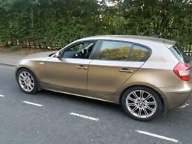 QUICK SALE gold BMW 120i automatic