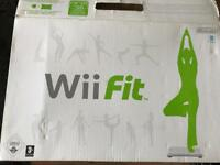 BRAND NEW wii fit board unused