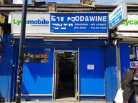 Off- Licence on sale for reduced price £85k 11.5K T/O