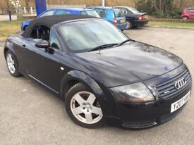 2001 AUTI TT QUATTRO CONVERTIBLE WITH 1 YEARS MOT LOOKS & DRIVES GREAT