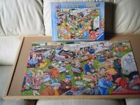'Knotworth Bothrynwithe Car Boot' : 1,000 piece Jigsaw Puzzle