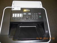 Nearly new Brother 2840 Fax Machine