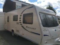 Bailey Pageant Burgundy. Series 7. 4 Berth Caravan. Motor Mover
