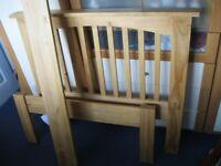 Lovely Pine Single Bed Frame