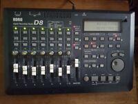 Korg D8 - 8 Track Digital Recorder