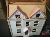 Doll House with boxed furniture sets
