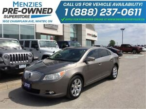 2010 Buick LaCrosse CXL AWD, Hands-Free, Leather, Sirius, Heated