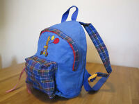 rucksack for toddler or pre-schooler