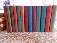 """complete set of """"A series of unfortunate events"""" by Lemony Snicket."""