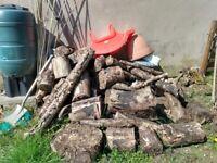 Free seasoned logs