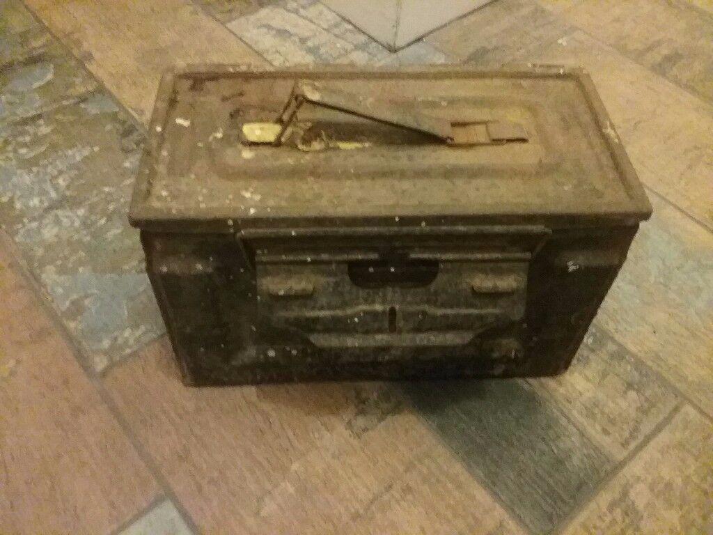 WW2 ammo box
