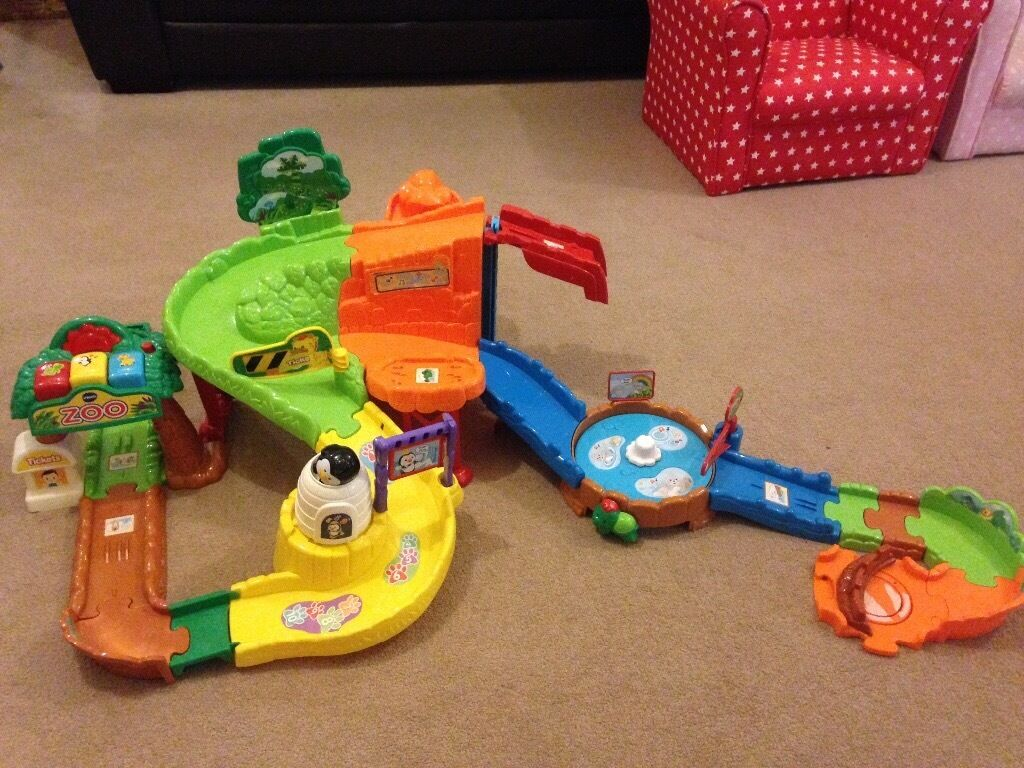 Vtech Toot Toot Zoo complex