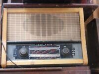 vintage valve radio for sale