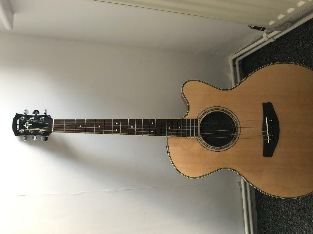 Yamaha semi acoustic guitar | in Gosport, Hampshire | Gumtree