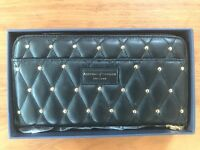 Aspinal's of London - women's quilted wallet (black)
