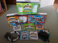 Large bundle of Skylander Games, 90+ Figures and Other Items.