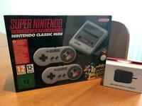Snes console brand new with USB power adaptor